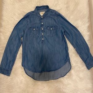 Abercrombie & Fitch jean shirt